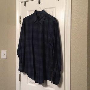 Plaid Van Heusen shirt
